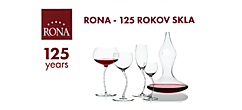 RONA - 125 years of glass