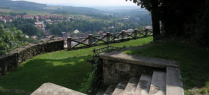 The view from the bastion