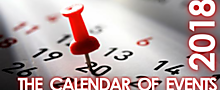 The Calendar of Events 2018