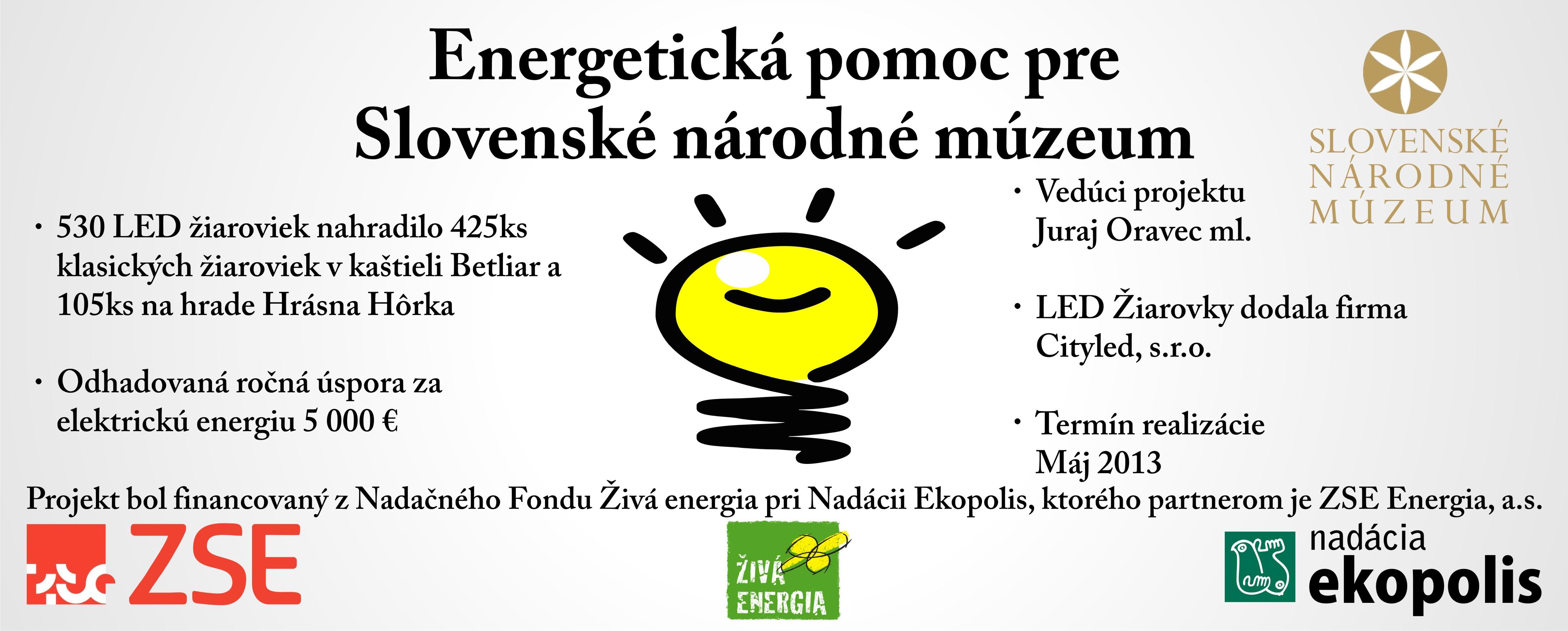Energetická pomoc SNM