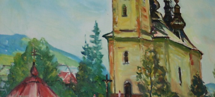 An exhibition of Art works by Slovak and foreign artists of Ruthenian origin